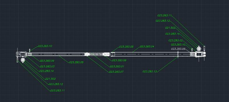 Boom Vang Pole -1