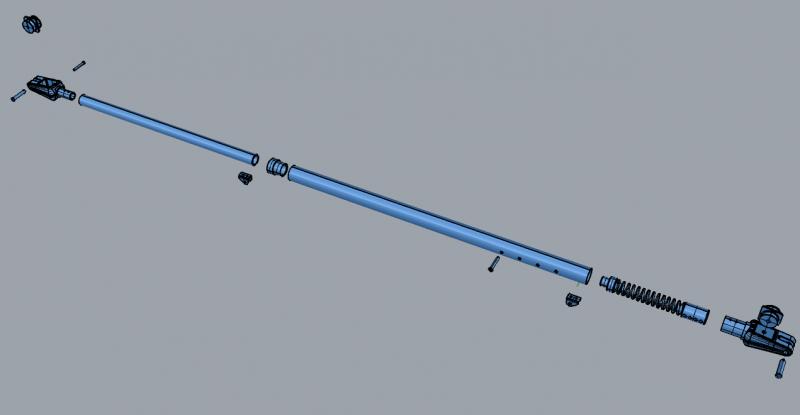 Boom Vang Pole -R2
