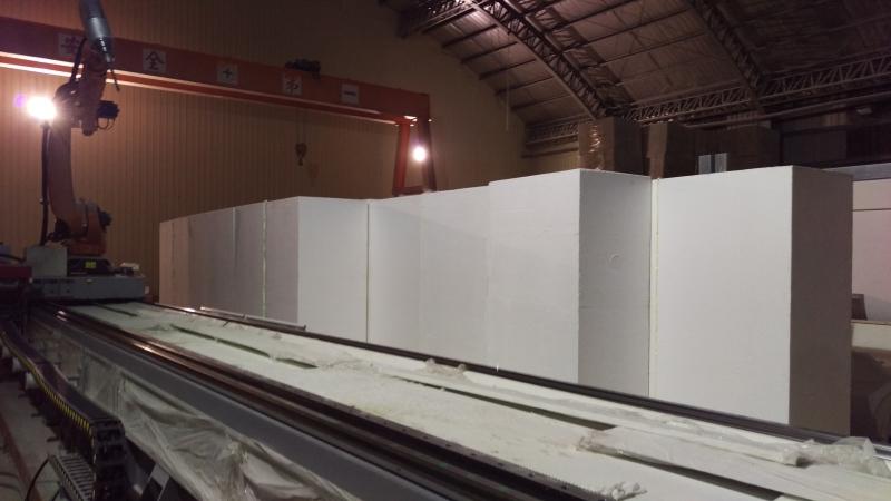 Polystyrene Foam Arrangement-0
